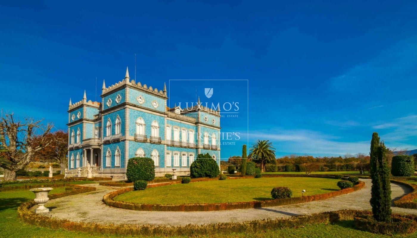 Vineyard, with palace and gardens, Póvoa de Lanhoso, Portugal