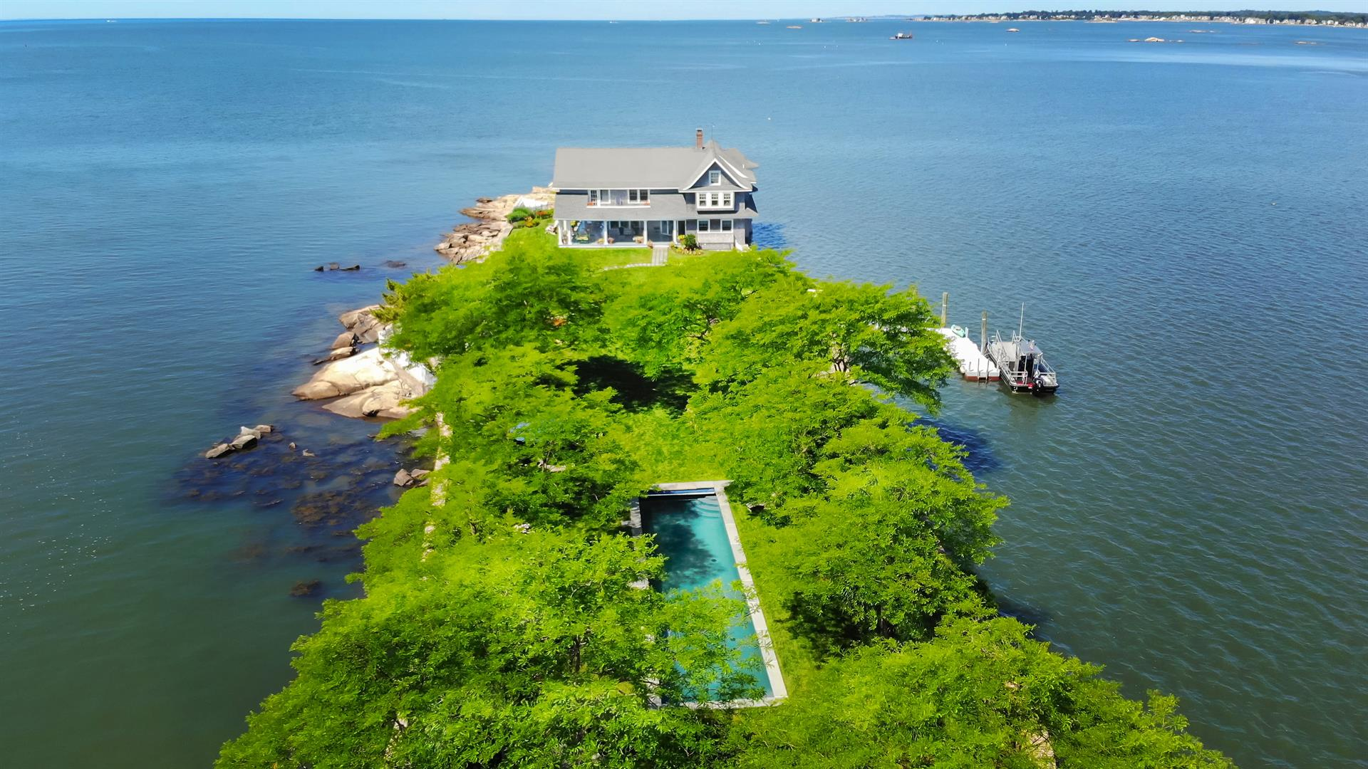 Potato Island, Private Retreat in the Thimble Islands