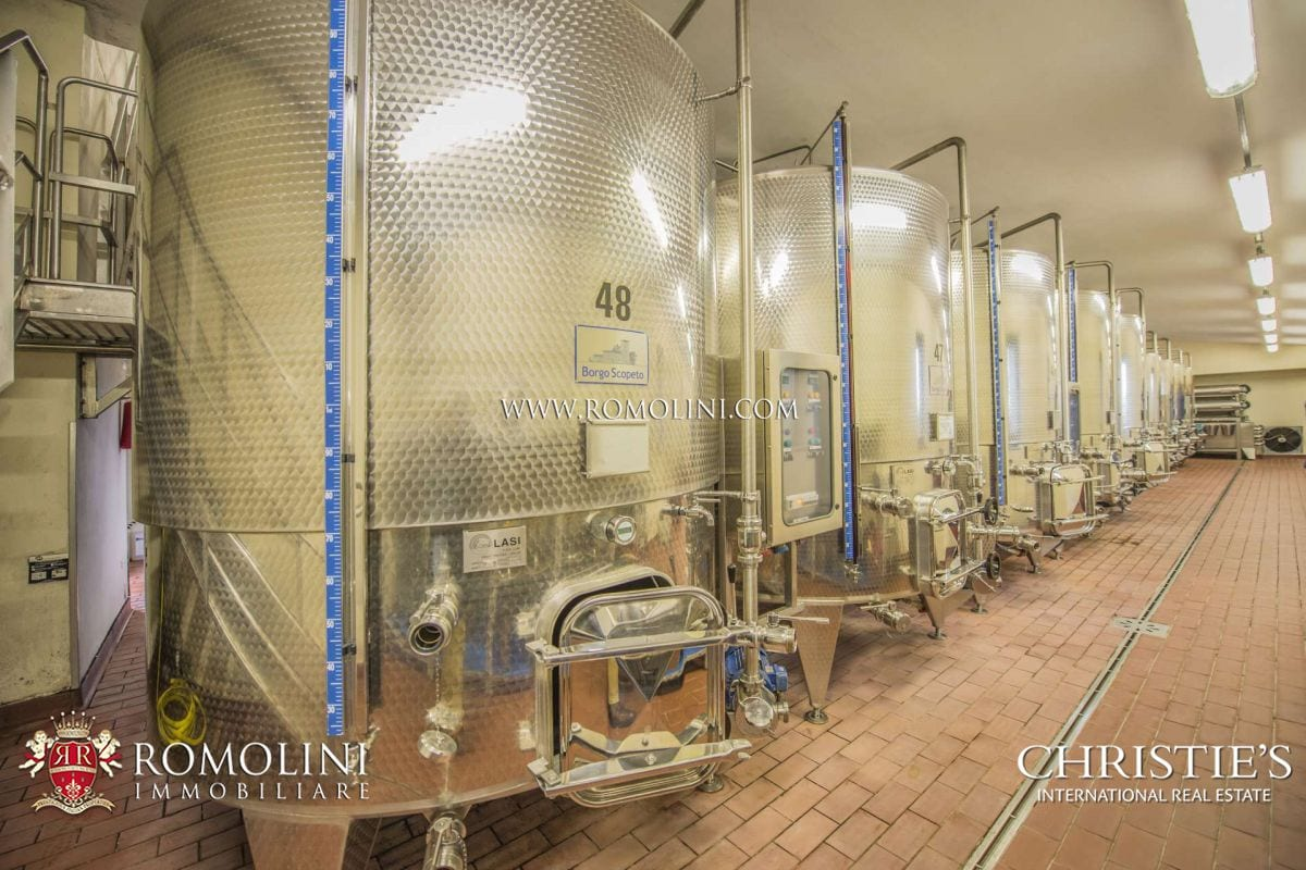 Tuscany – WINE ESTATE, VINEYARDS, WINERY CHIANTI CLASSICO FOR SALE